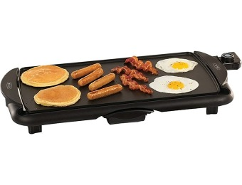 "80% off Bella 20"" Family Size Electric Griddle, 13602"