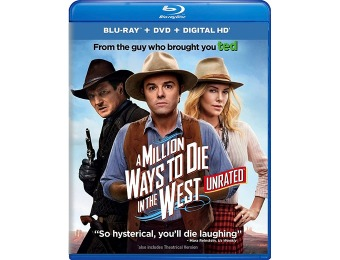 70% off A Million Ways to Die in the West (Blu-ray + DVD + Digital HD)