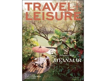 93% off Travel + Leisure Magazine Subscription (1-year auto-renewal)