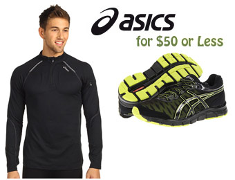 Asics Clothing, Shoes & Accessories for $50 or Less