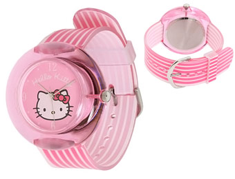 55% Off Hello Kitty Plastic Watch