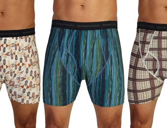 61% off ExOfficio Give-N-Go Printed Boxer Briefs, 5 Styles