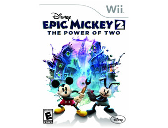 67% Off Disney Epic Mickey 2: The Power of Two Wii Video Game