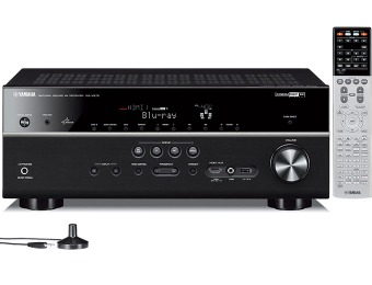 $350 off Yamaha RX-V675 7.2 Ch Network AV Receiver with Airplay