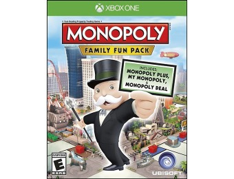 33% off Monopoly Family Fun Pack (Xbox One)