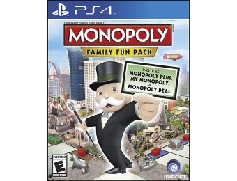 33% off Monopoly Family Fun Pack (Playstation 4)