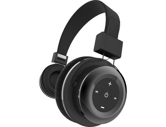 $80 off Tzumi Wireless Bluetooth Stereo Headphones, Black or Pink