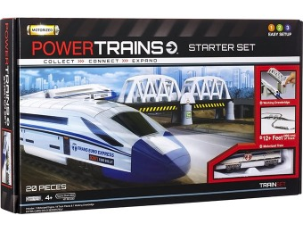 55% off Power City Trains Starter Set