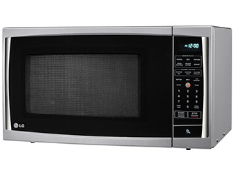 $80 off LG LCRT1510SV 1.5 Cu. Ft. Microwave Oven