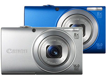 $80 off Canon PowerShot A4000 IS 16.0-MP Digital Camera