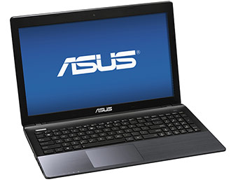 "Deal: Asus K-Series 15.6"" LED HD Laptop (Core i5/4GB/500GB)"