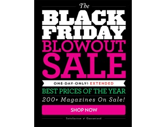 DiscountMags Black Friday Extended Blowout Sale - Best Deals