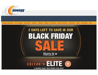 Newegg Black Friday 48-Hour Weekend Sale
