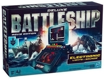 80% off Hasbro Deluxe Battleship Movie Edition