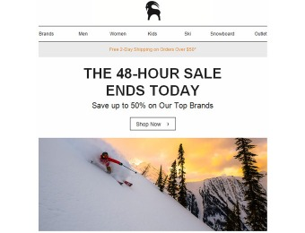 BackCountry Cyber Weekend 48-Hour Sale - Up to 50% off