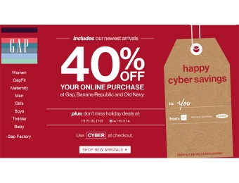 CAP Cyber Monday Sale Event - 40% off Your Entire Purchase