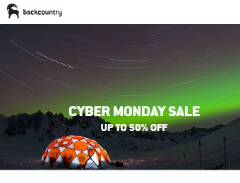Backcountry Cyber Monday Deals - Up to 50% Off
