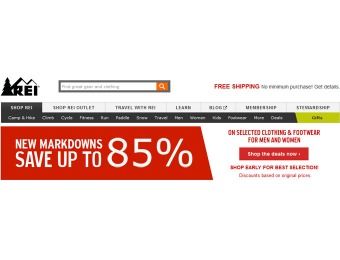 New REI Markdowns - Up To 85% off, Thousands of Items on Sale