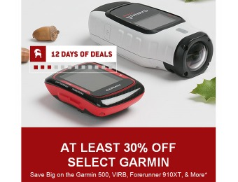 Save 30% - 40% of Garmin Electronics and Accessories