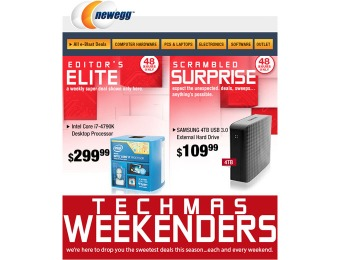 Newegg Technowonders 48 Hour Sale Event