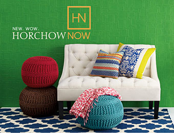 15% off orders over $100 w/ Horchow promo code SPRING