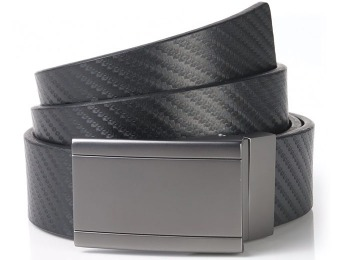 66% off Alfani Men's Leather Dress Plaque Belt