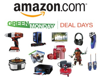 Green Monday Deal Days at Amazon.com