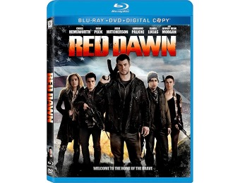 84% off Red Dawn (Blu-ray + DVD + Digital Copy) 2012