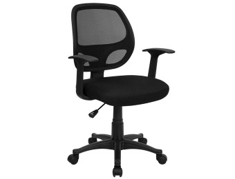 83% off Flash Furniture Mid-Back Mesh Office Chair