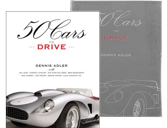 $125 off 50 Cars to Drive Hardcover