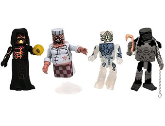 44% off Ghostbusters III Video Game MiniMates Box Set