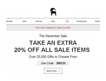 Extra 20% off Sale Items at Backcountry, 25,000+ Items