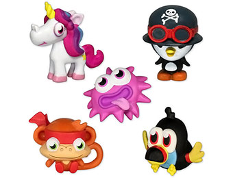 50% off 3-Pack Moshi Monsters Moshling Mini-Figures