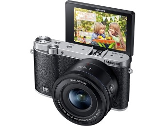 $180 off Samsung NX3000 Wireless Smart 20.3MP Compact Camera