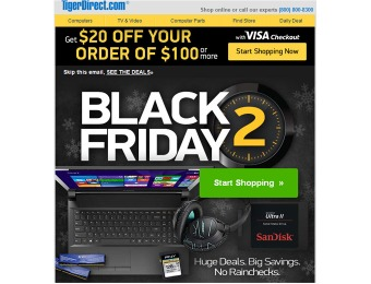 Tiger Direct Black Friday 2 Sale - Huge Deals, Big Savings
