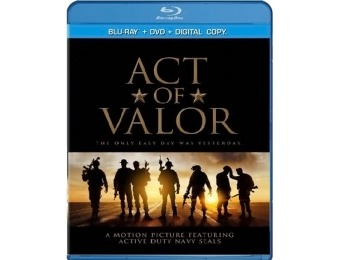70% off Act of Valor (Blu-ray)