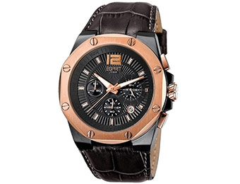 65% off Esprit Octo Gun Rosegold Chronograph Men's Watch