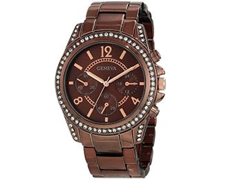 76% off Geneva Moderate Women's Multi-Function Bracelet Watch