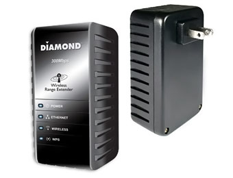 53% Off Diamond Multimedia 300Mbps Wireless Range Extender