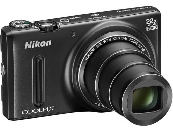 54% off Nikon Coolpix S9600 16 Megapixel WiFi Digital Camera Kit