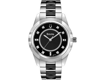 $270 off Bulova Women's Diamond Accent Bracelet Watch
