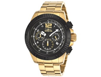 90% off Invicta Men's 15896 Speedway 18k Gold-Plated Watch