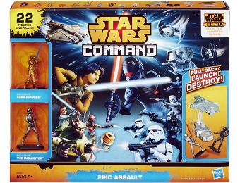 68% off Star Wars Command Epic Assault Set