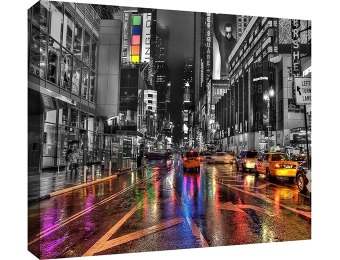 91% off Revolver Ocelot 'NYC' 24 x 36 Gallery-Wrapped Canvas Artwork