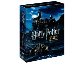 49% off Harry Potter: Complete 8-Film Collection DVD (8-Discs)