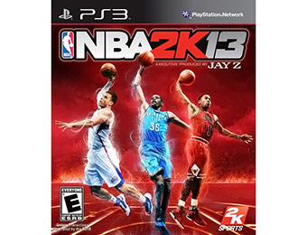 $25 off NBA 2K13 (PlayStation 3)