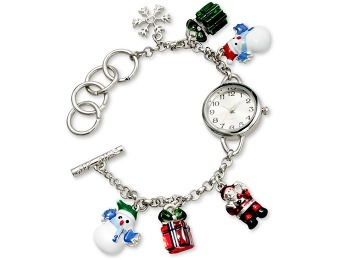 83% off Charter Club Women's Silver-Tone Charm Bracelet 23mm