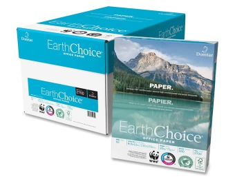 "$25 off Domtar EarthChoice Office Paper, 8 1/2"" x 11"", Case"