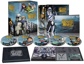 $60 off Star Wars: The Clone Wars - Seasons 1-5 (Collectors Ed.) Blu-ray