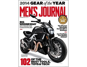 94% off Men's Journal Magazine - 1 Year Subscription